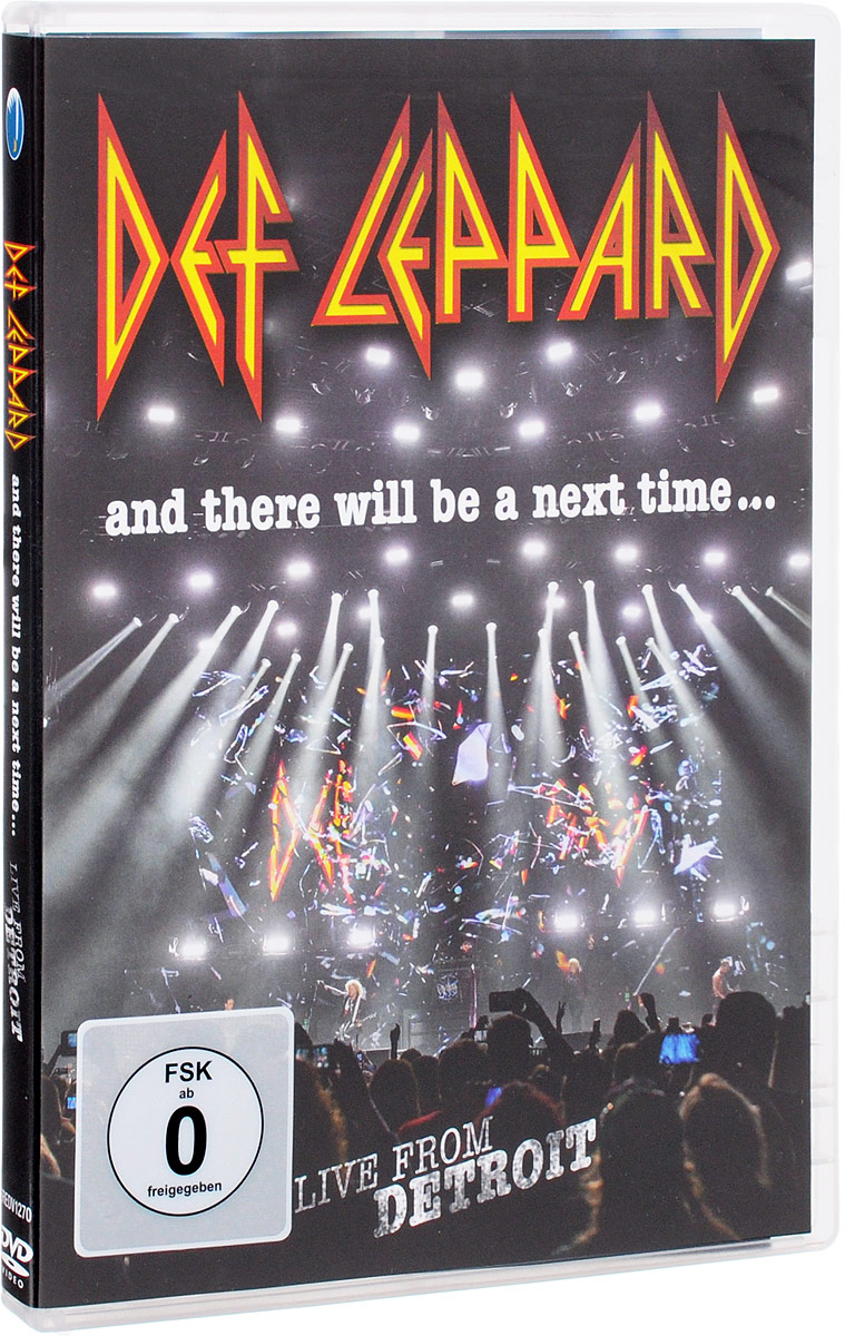 Def Leppard. And There Will Be A Next Time... Live From Detroit let there be rock cd