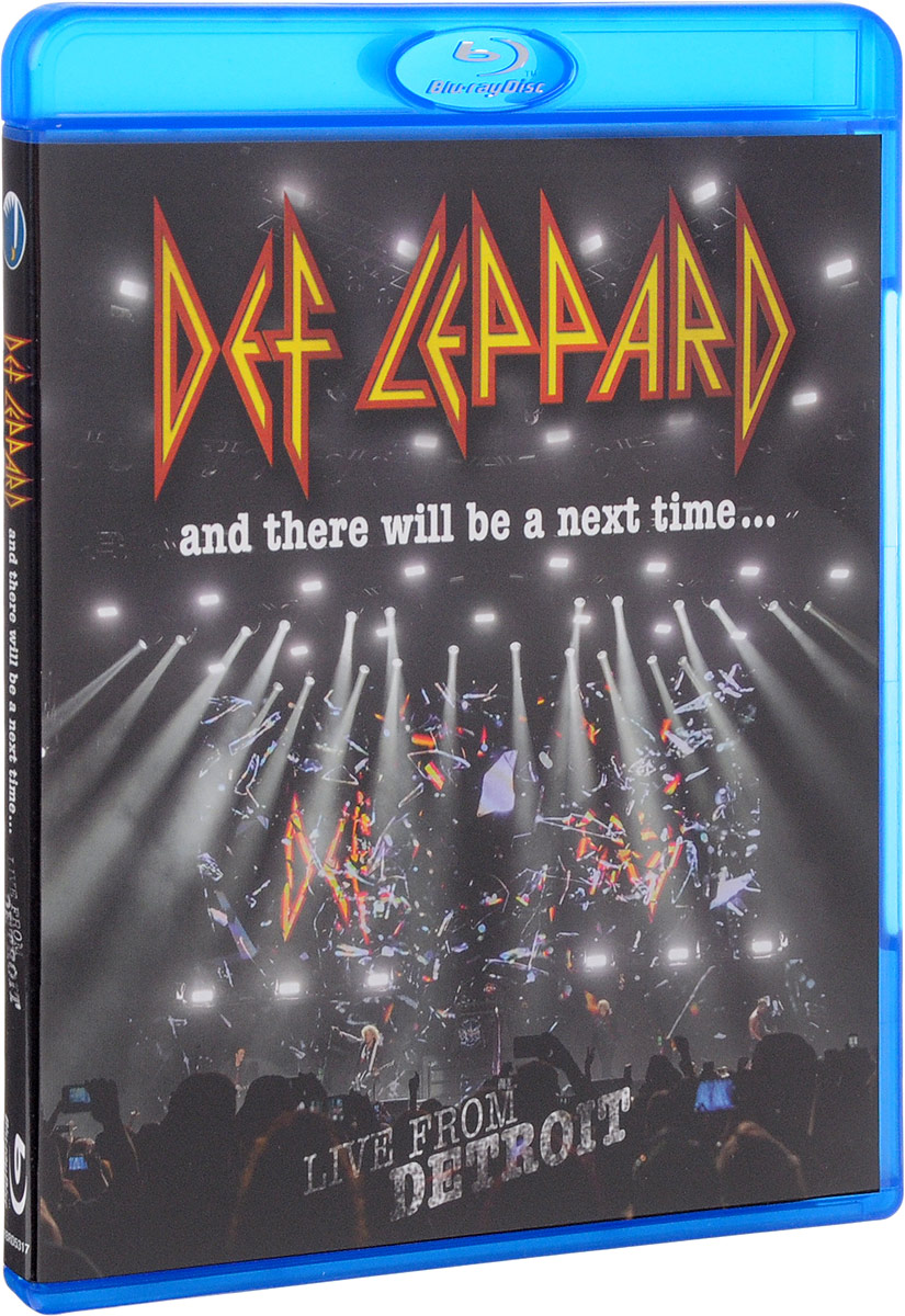 Def Leppard. And There Will Be A Next Time... Live From Detroit (Blu-ray) francis rossi live from st luke s london blu ray