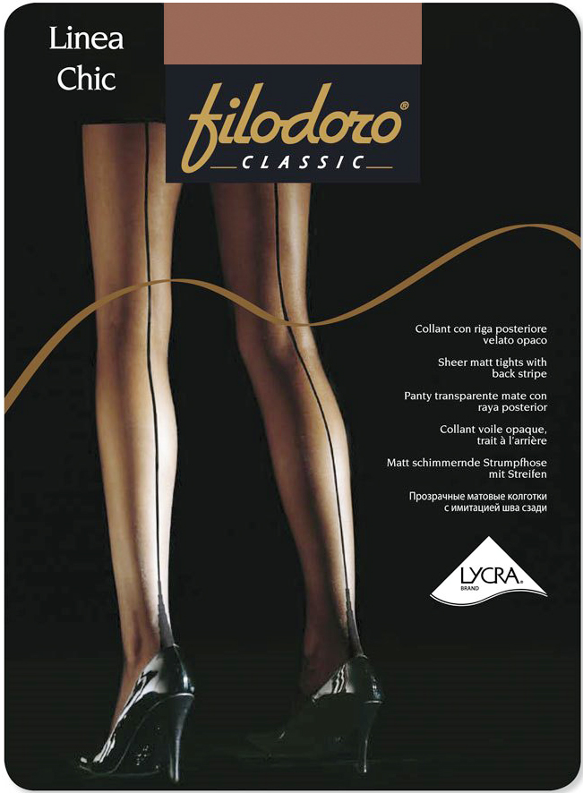 Колготки Filodoro Classic Linea Chic 20, цвет: Glace (ореховый). Размер 4 filodoro classic filodoro classic cotton warm grigio melange