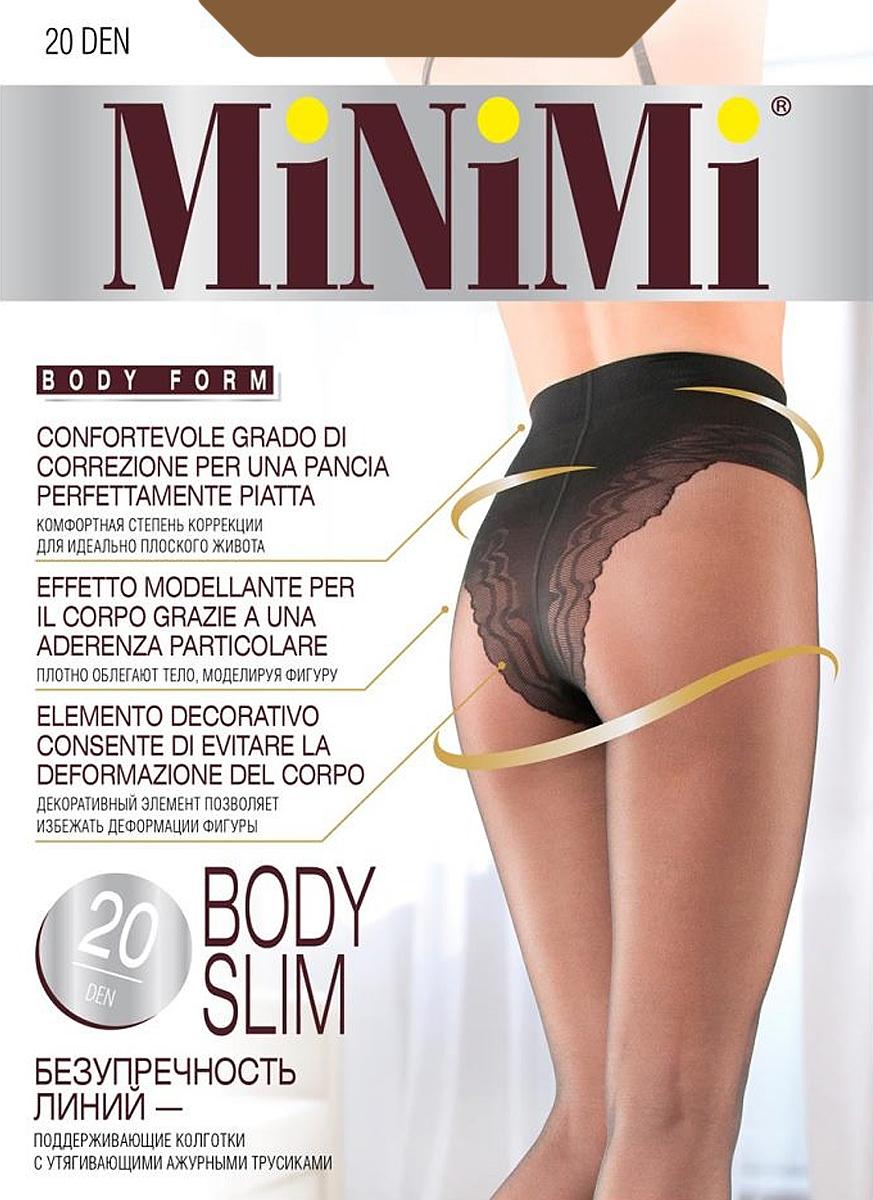 Колготки Minimi Body Slim 20, цвет: Daino (загар). Размер 3 цены онлайн