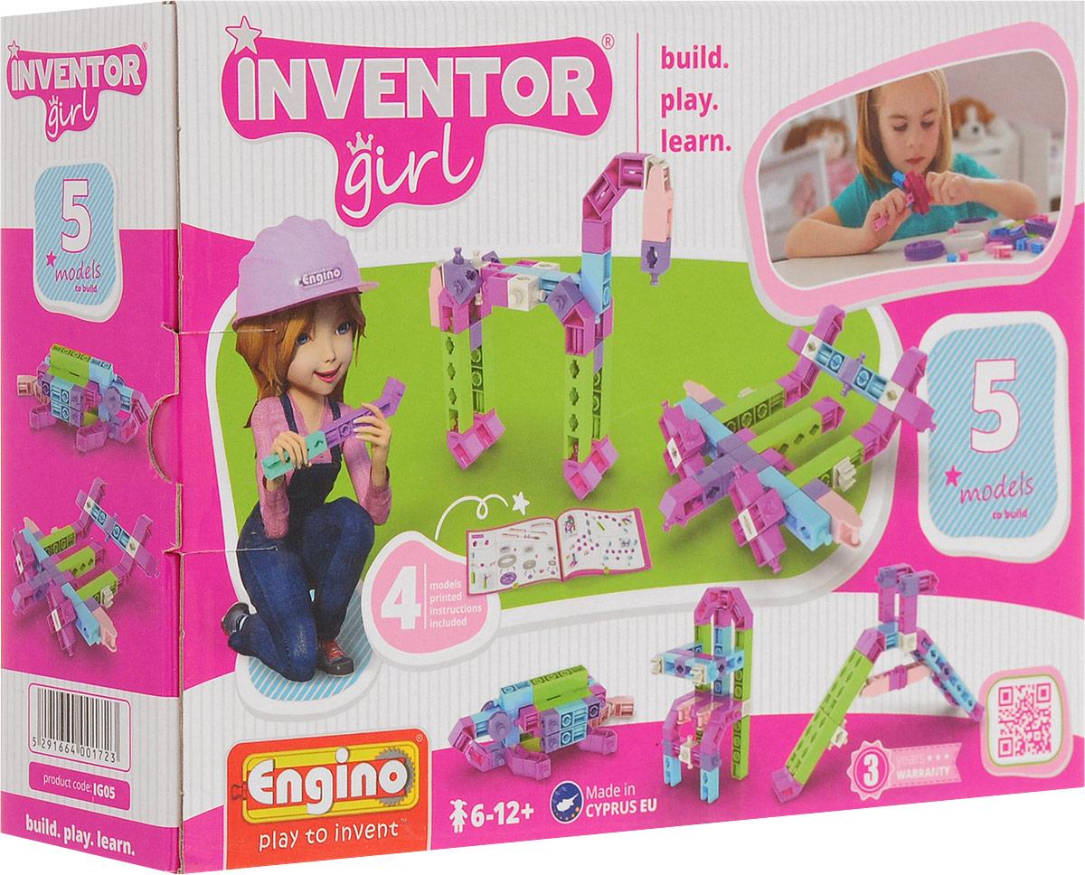 Engino Конструктор Inventor Girl 5 моделей 3d очки для компьютера в георгиевске