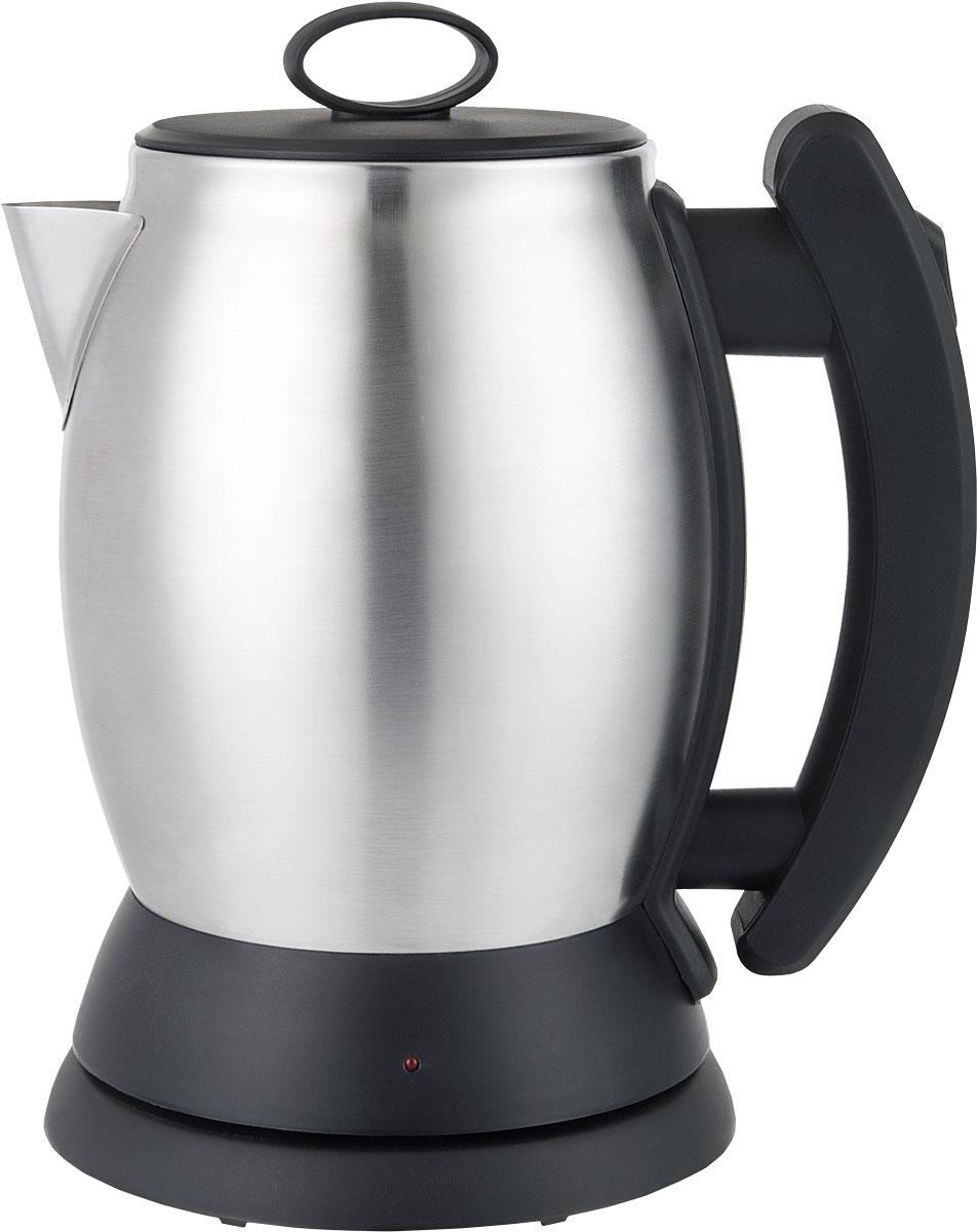 Irit IR-1334 электрический чайник79 02711Электрический чайник Irit IR-1334 прост в управлении и долговечен в использовании. Корпус изготовлен из высококачественных материалов. Мощность 1350 Вт быстро вскипятит 1,2 литра воды. Беспроводное соединение позволяет вращать чайник на подставке на 360°. Для обеспечения безопасности при повседневном использовании предусмотрены функция автовыключения, а также защита от включения при отсутствии воды.