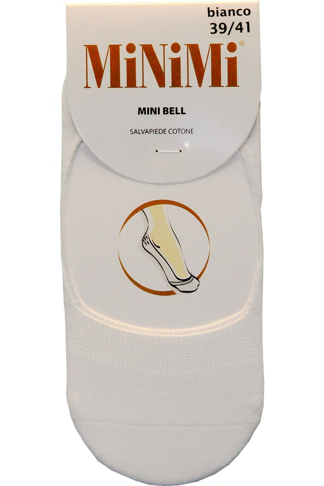 Подследники Minimi Bell хлопок, цвет: Beige (бежевый). Размер 39/41BELL хлопокЛетние тонкие мягкие эластичные подследники от Minimi из хлопка с кеттельным швом на мыске. Силиконовые фиксаторы в районе пятки не позволяют сползать подcледникам с ноги при ходьбе, высокая устойчивость к истиранию. (1 пара в упаковке)