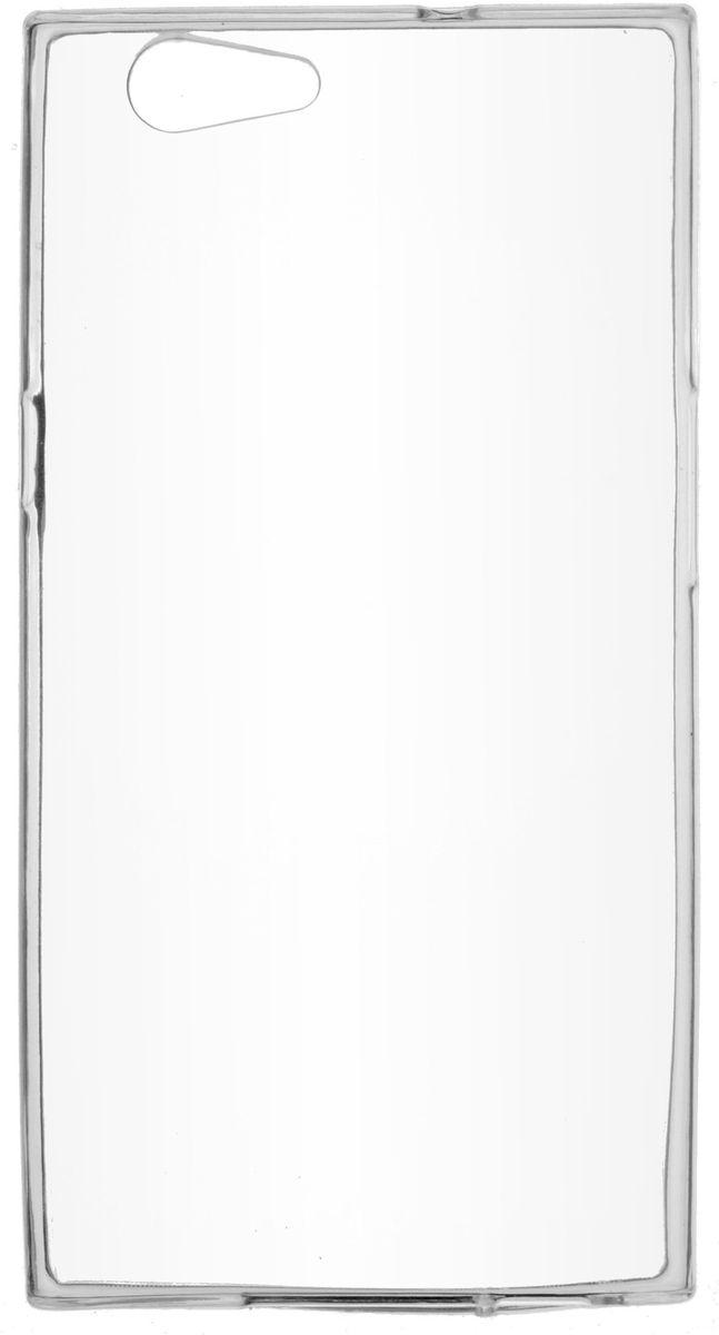 где купить Skinbox Slim Silicone чехол для Senseit E510, Transparent дешево