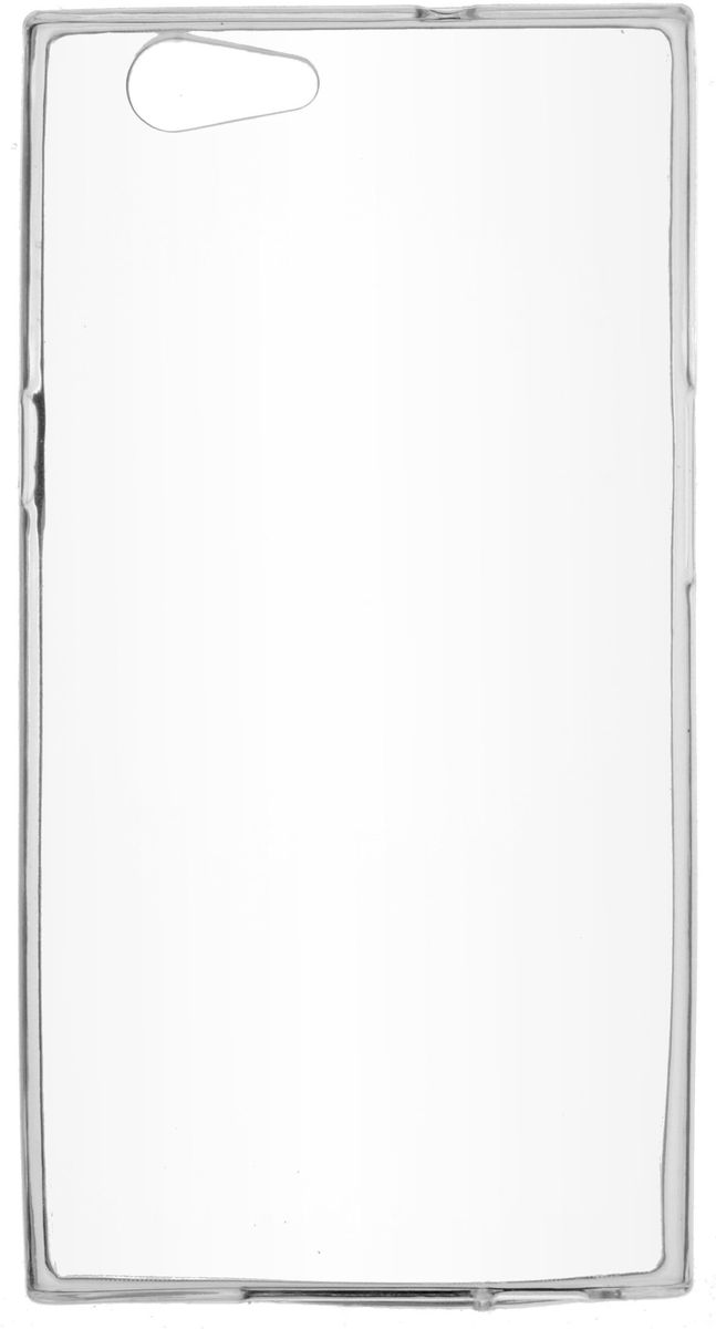 Skinbox Slim Silicone чехол для Senseit E510, Transparent