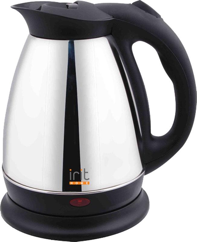 Irit IR-1322 электрический чайник79 01959Электрический чайник Irit IR-1322 прост в управлении и долговечен в использовании. Корпус изготовлен из высококачественных материалов. Мощность 1500 Вт быстро вскипятит 1,5 литра воды. Беспроводное соединение позволяет вращать чайник на подставке на 360°. Для обеспечения безопасности при повседневном использовании предусмотрены функция автовыключения, а также защита от включения при отсутствии воды.