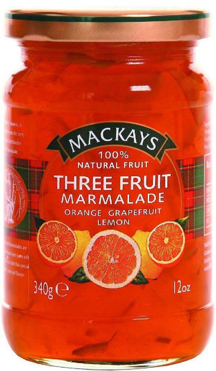 где купить Mackays Десерт из трех фруктов (апельсин, лимон, грейпфрут), 340 г по лучшей цене