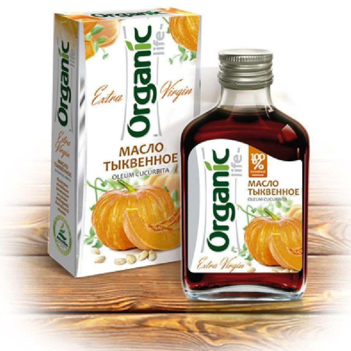 где купить Organic Life масло тыквенное, 100 мл по лучшей цене