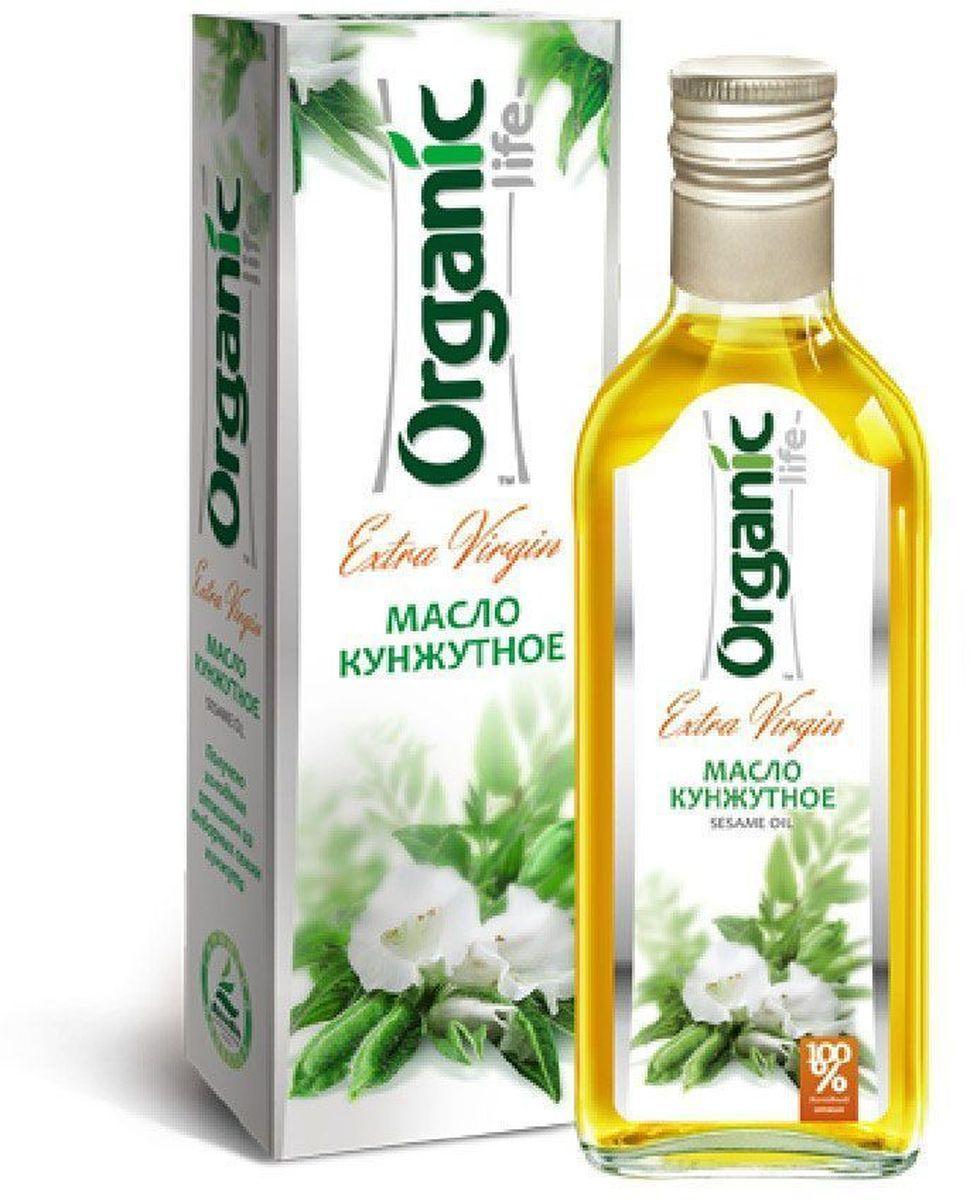 Organic Life масло кунжутное, 250 мл212025Кунжутное масло – это ценный диетический продукт питания, благоприятно влияющий на здоровье. Нормализует обмен веществ,укрепляет иммунную систему,благотворно воздействует на эндокринные железы,благотворно влияет на сердечно-сосудистую, дыхательную, нервную систему и мозговые клетки,предотвращает спазмы сосудов, вызывающие приступы мигрени,улучшает состав крови,снижает уровень холестерина.В качестве эликсира красоты кунжутное масло имеет тысячелетнюю историю. Оно обладает способностью глубоко проникать в кожу, смягчать и очищать ее, выводя вредные продукты метаболизма, грязь и отмершие клетки.