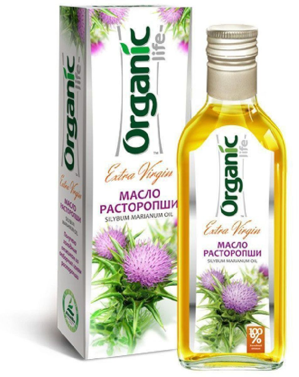Organic Life масло расторопши, 250 мл масло расторопши пятнистой куплю продам