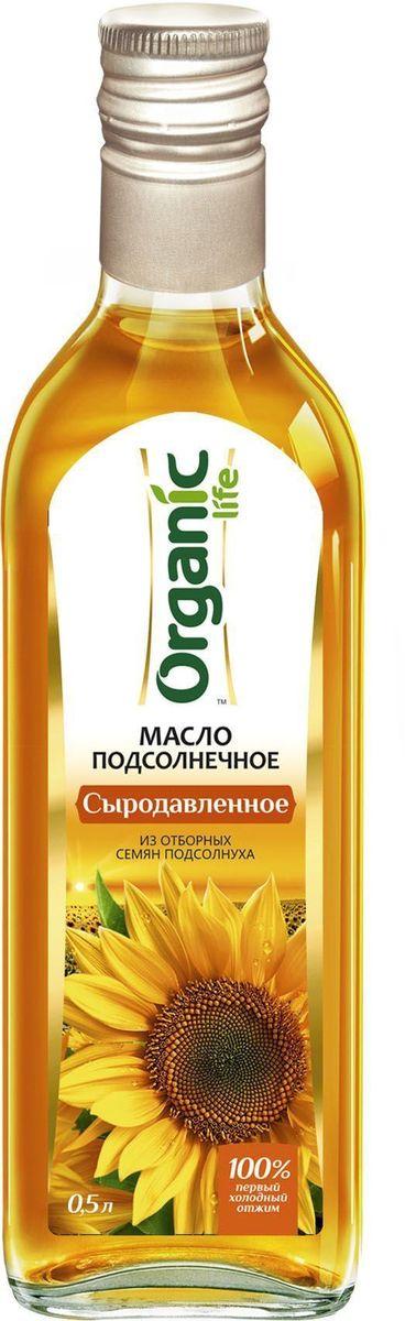 Organic Life масло подсолнечное Сыродавленное, 500 мл212041Подсолнечное масло Сыродавленое марки Organic Life получено из отборных семян подсолнечника методом холодного отжима. Именно такой способ изготовления позволяет сохранить все полезные свойства и изысканные вкусовые качества масла. Мощный антиоксидант витамин Е замедляет старение клеток и делает подсолнечное масло омолаживающим продуктом. Линолевая кислота способствует укреплению иммунной защиты организма. А витамины А и D нужны для поддержания в норме зрения, хорошего состояния костей и кожи. Выраженный вкус и аромат масла и его ценные компоненты сделают ваши любимые блюда аппетитными и полезными.Масла для здорового питания: мнение диетолога. Статья OZON Гид