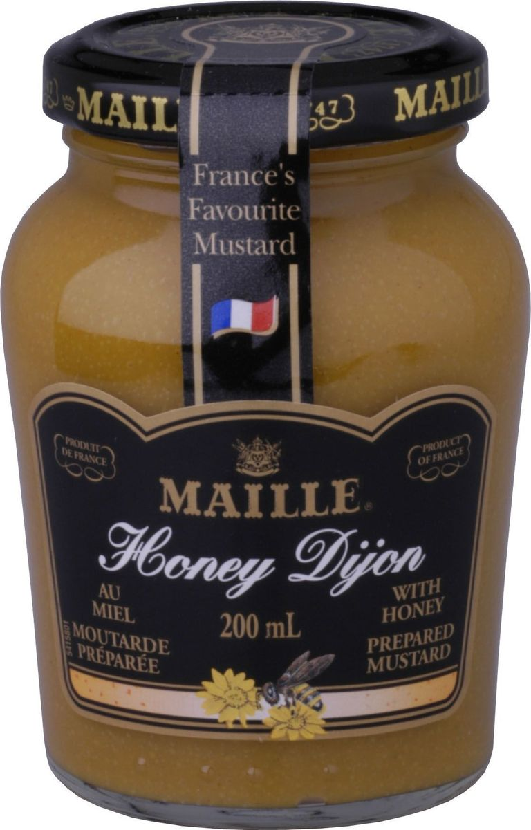 Maille Горчица с медом, 200 мл maille дижонская горчица 200 мл