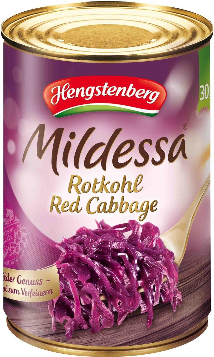Hengstenberg Милдесса капуста краснокочанная, 4250 мл257321Краснокочанная капуста характеризуется долгим хранением. Она пригодна для гарниров, салатов, квашения и маринования.