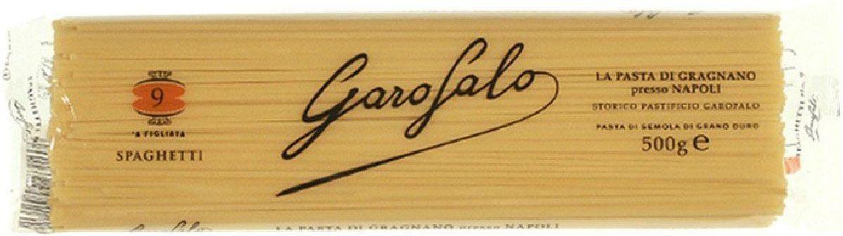 Garofalo Спагетти № 9, 500 г garofalo лингуине тонкие полосы лапши 12 500 г