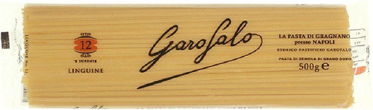 Garofalo Лингуине тонкие полосы лапши № 12 , 500 г259501Тонкие полосы лапши, длиной 26 см. В отличие от спагетти лингуине достаточно крупные, чтобы подаваться с густыми соусами, например с соусом маринара.Лайфхаки по варке круп и пасты. Статья OZON Гид