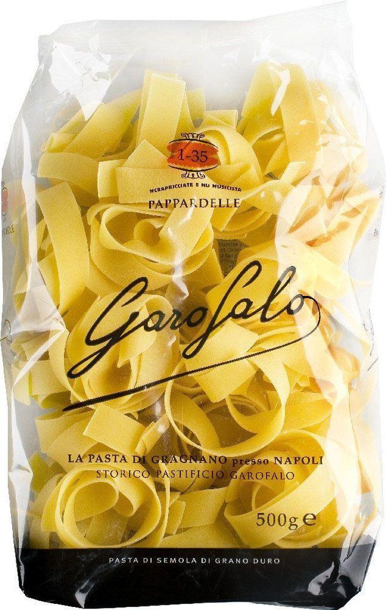 Garofalo Папарделле Нидо плоская лапша № 135, 500 г garofalo лингуине тонкие полосы лапши 12 500 г
