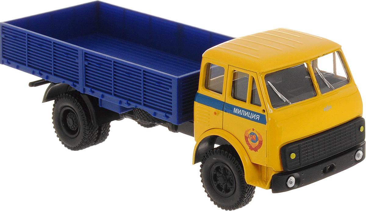 Autotime Модель автомобиля МAZ-5335 цвет желтый синий машинки autotime машина maz 5335 милиция ссср
