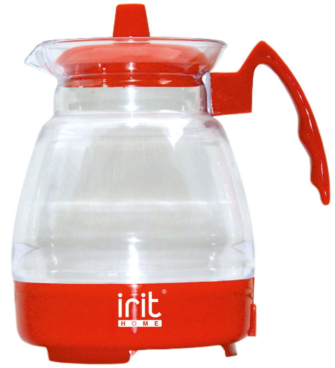 Irit IR-1123 электрический чайник79 02591Электрический чайник Irit IR-1123 прост в управлении и долговечен в использовании. Корпус изготовлен из термостойкого пластика. Мощность 600 Вт быстро вскипятит 1,2 литра воды.