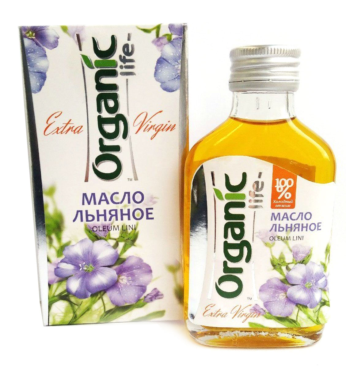 Organic Life масло льняное, 100 мл недорого