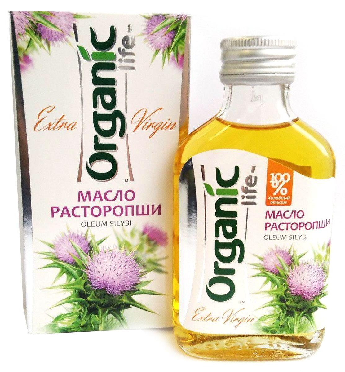 Organic Life масло расторопши, 100 мл масло расторопши пятнистой куплю продам