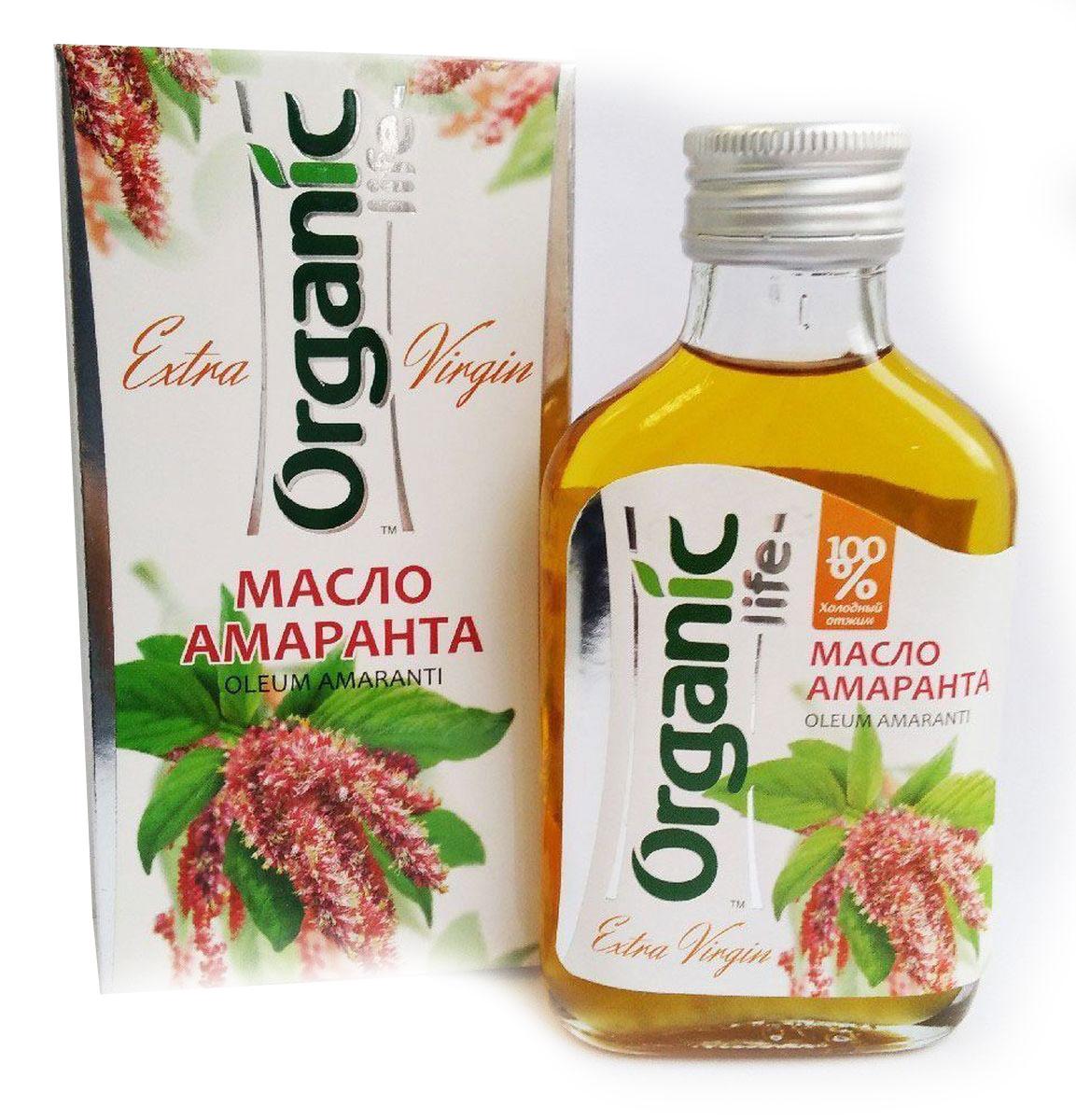 Organic Life масло амарантовое, 100 мл212033Особая ценность амарантового масла - в содержании биологически активного соединения сквалена. Сквален является универсальным защитником клеток от повреждающих факторов. Он оказывает мощное антиоксидантное, иммуномодулирующее и противоопухолевое действие. Регулярное употребление в пищу амарантового масла:замедляет процессы старения клеток;улучшает обмен веществ;нормализует работу иммунной и эндокринной систем.Такие свойства амарантового масла были подтверждены в ходе исследовательских испытаний в ведущих учреждениях России: Воронежская государственная медицинская академия им. Н.Н.Бурденко, Институт хирургии им. А.В.Вишневского РАМН (г. Москва), НИИ онкологии им. проф. Н.Н.Петрова (г. Санкт-Петербург). Способ применения: по 1 ч.л. 2-3 раза в день.