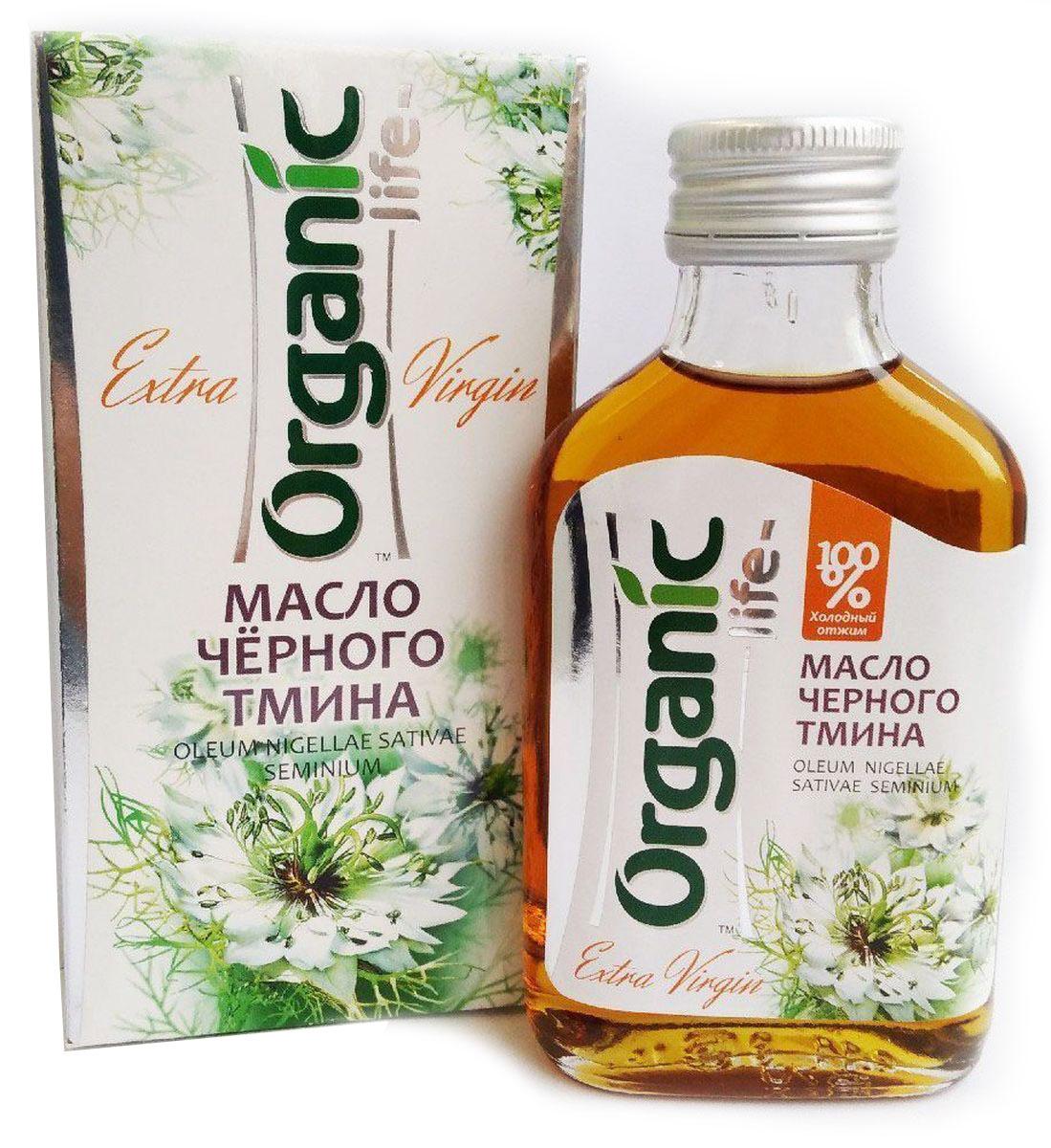 Organic Life масло черного тмина, 100 мл масла malak bio масло чёрного тмина