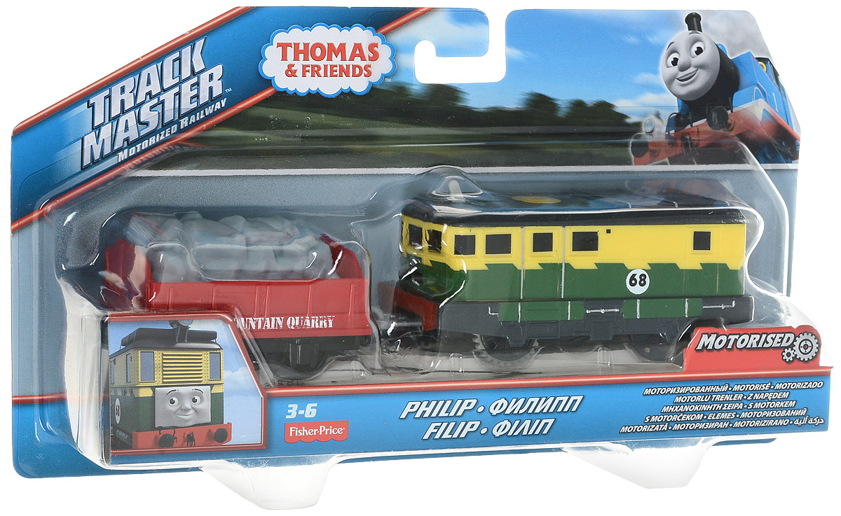 Thomas & Friends Базовый паровозик Филипп