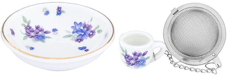 Набор для заваривания чая Elan Gallery Сиреневый туман, 2 предмета