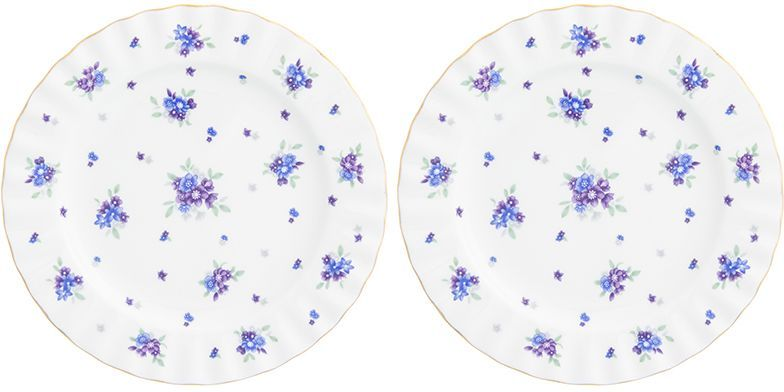Набор десертных тарелок Elan Gallery Сиреневый туман, 2 предмета эдуард снежин сиреневый туман