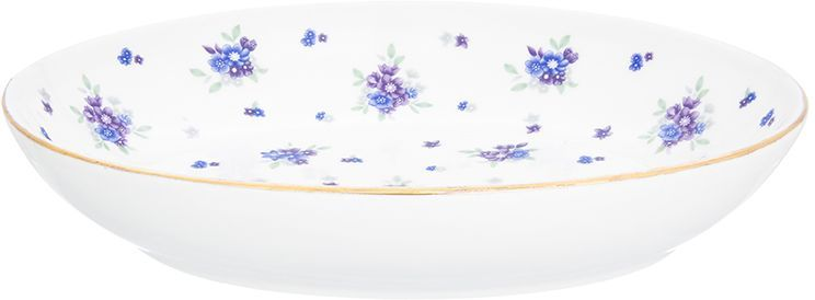 Блюдо для слоеных салатов Elan Gallery Сиреневый туман, 21,5 х 16 см, 600 мл free shipping lt1037amj8883 goods in stock and new original