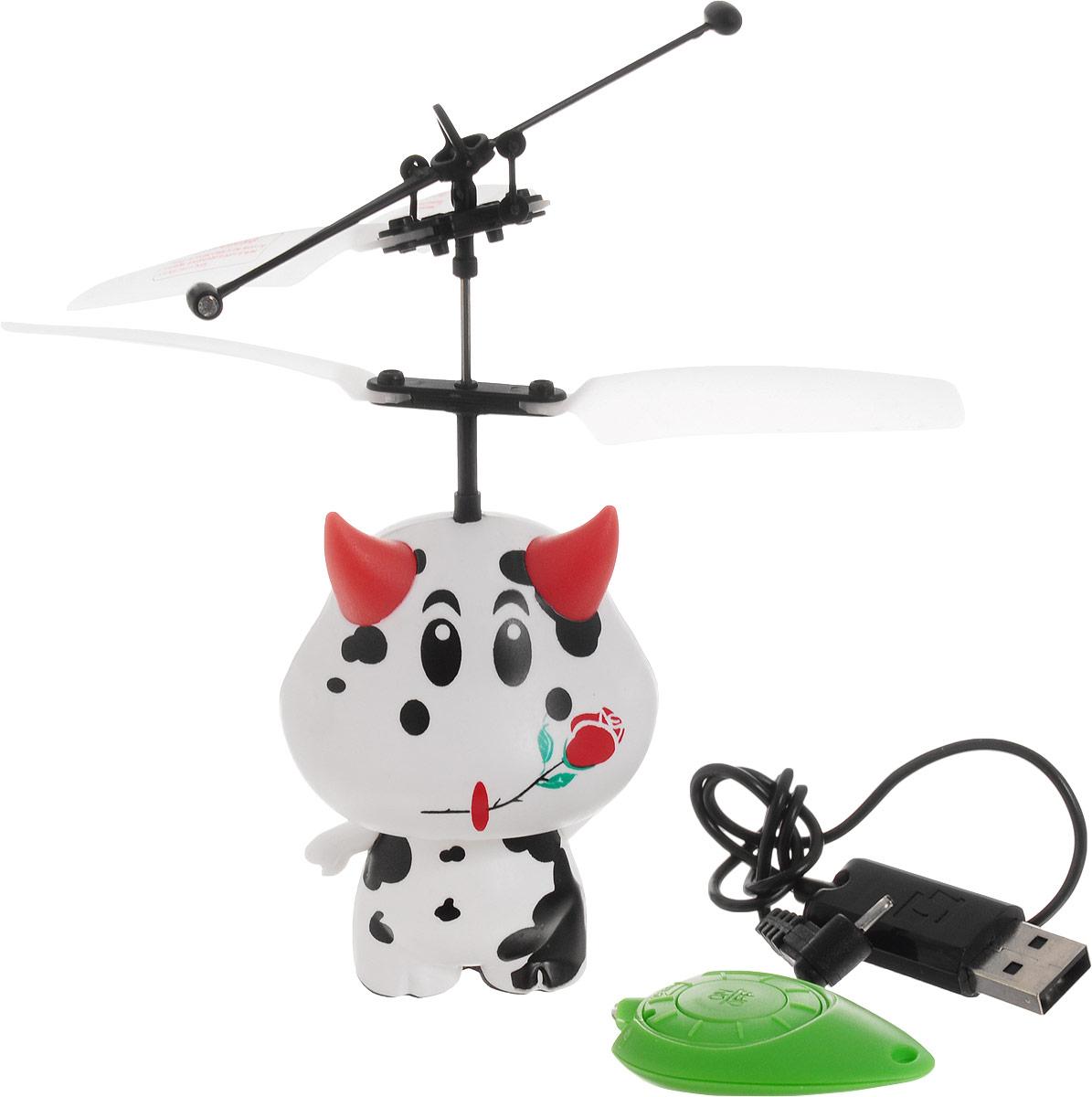 Balbi Мини-флаер на инфракрасном управлении Веселая коровка - Радиоуправляемые игрушки