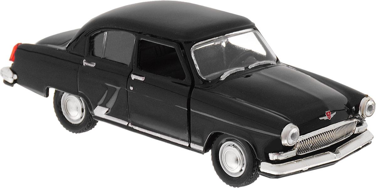 Autotime Модель автомобиля ГАЗ-21 Волга цвет черный autotime модель автомобиля uaz 39625 мчс россии