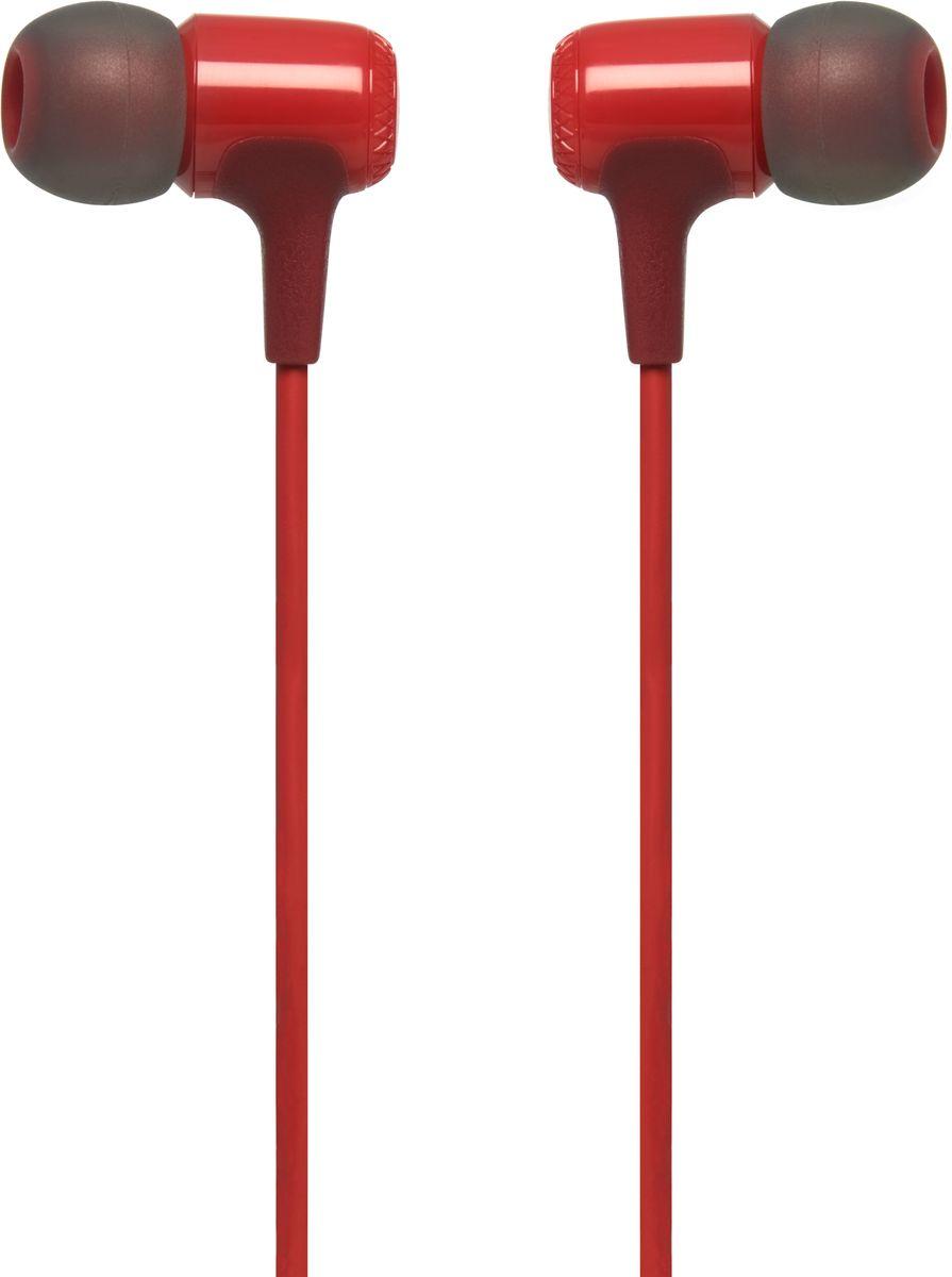 JBL E15, Red наушникиJBLE15REDВнутриканальные наушники JBL E15 - это стиль и качество, сведенные вместе. Несмотря на компактный дизайн, их 8,6-мм мембраны обеспечивают полный спектр фирменного звука JBL. Изогнутые вкладыши и амбушюры нескольких размеров обеспечивают удобную посадку и комфорт для продолжительного слушания музыки, где бы вы ни были - на работе, в транспорте или просто в городе. Дополнительные функции, которые делают E15 идеальным выбором, - это неспутывающийся кабель с тканевой оплеткой, легкая конструкция, удобный чехол для хранения и однокнопочный универсальный пульт управления. Доступные в различных выразительных цветах, эти наушники станут ярким аксессуаром в вашей жизни.