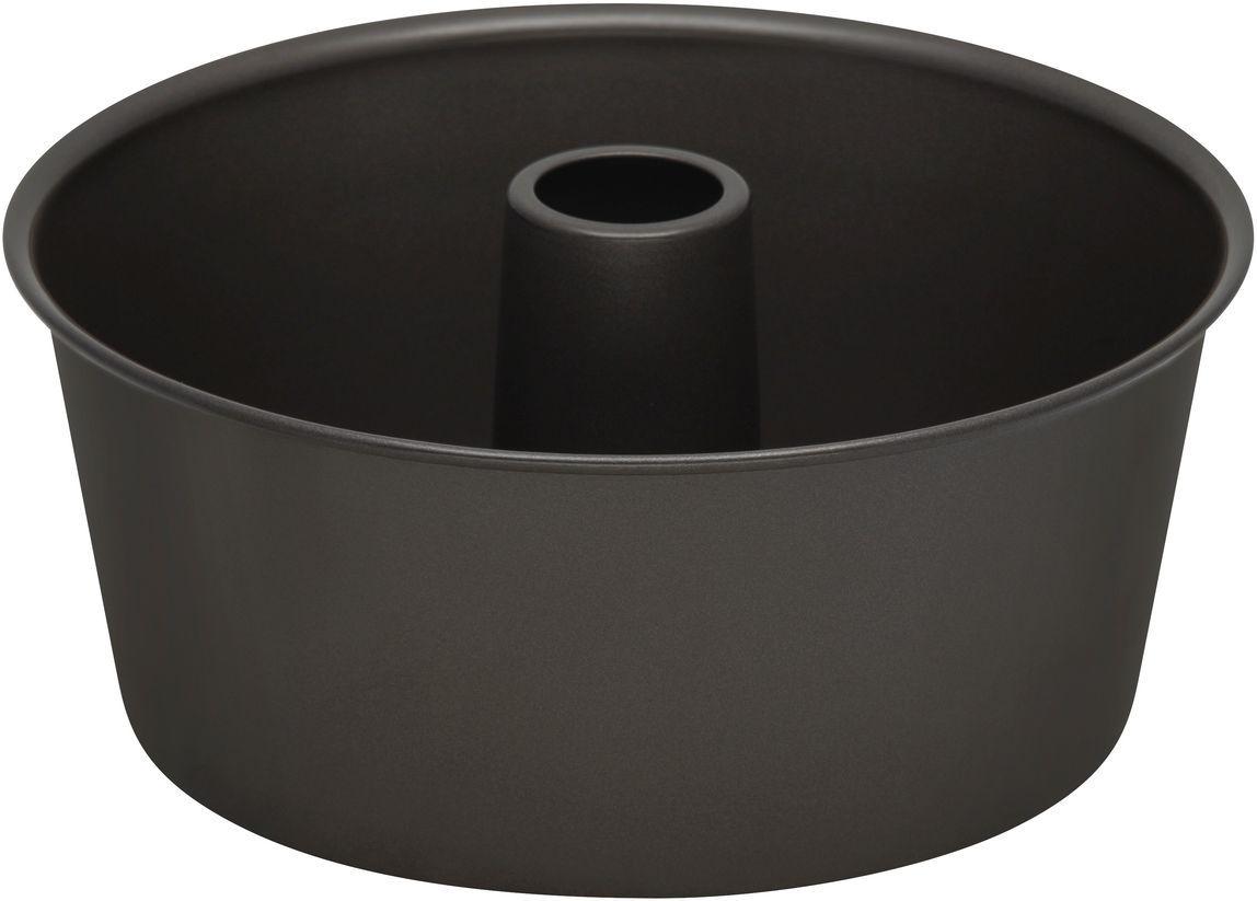 Форма для выпечки Bakers Secret Essentials, цвет: темно-серый. 11143701114370Форма для выпечки Bakers Secret Essentials выполнена из высококачественной стали. Внешнее антипригарное покрытие для удобства ухода и утолщенные стенки гарантируют равномерное пропекание изделия.Стальные формы для запекания стали популярными намного позже чугунных и керамических, и главное их преимущество - это абсолютная химическая нейтральность. Качественная нержавеющая сталь никак не скажется на вкусе готовой пищи и не будет подвержена воздействию кислот и щелочей, содержащихся в моющих средствах.Можно мыть в посудомоечной машине.
