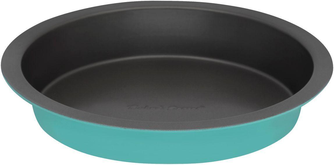 Форма для выпечки Bakers Secret Colors. Turquoise, диаметр 20,3 см, цвет: бирюзовый. 11157261115726Коллекция форм для выпечки тортов Bakers Secret из США являются хорошим приобретением любой хозяйки. Данные товары пользуются спросом, поскольку их отличает высокое качество. Формы для запекания Bakers Secret - выполнены из высококачественной стали. Внешнее антипригарное покрытие для удобства ухода и утолщенные стенки гарантируют равномерное пропекание изделия. Стальные формы для запекания стали популярными намного позже чугунных и керамических, и главное их преимущество – это абсолютная химическая нейтральность. Качественная нержавеющая сталь никак не скажется на вкусе готовой пищи и не будет подвержена воздействию кислот и щелочей, содержащихся в моющих средствах. Можно мыть в посудомоечной машине.