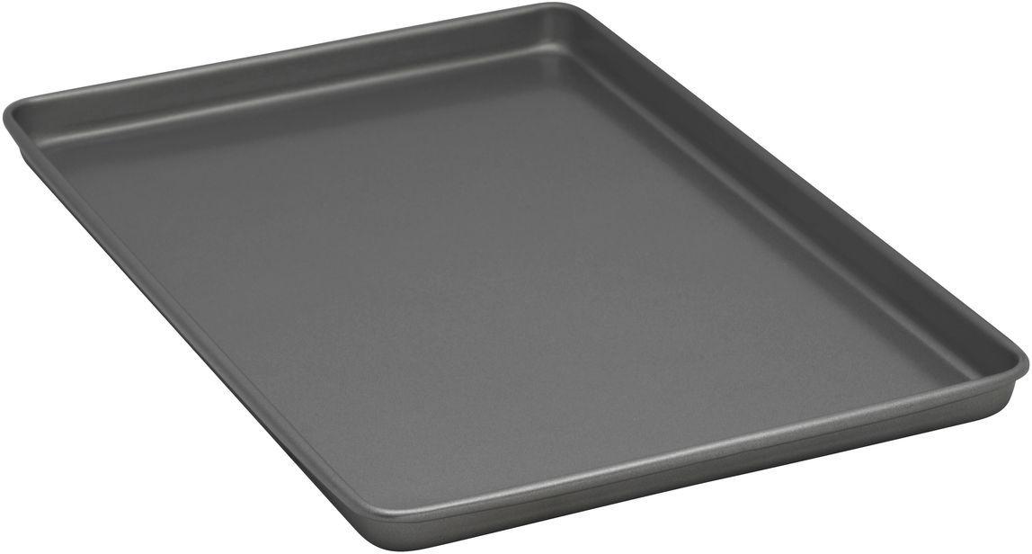 Форма для выпечки печенья Bakers Secret Essentials, 29,2 х 44,5 см, цвет: серый. 11167611116761Коллекция форм для выпечки тортов Bakers Secret из США являются хорошим приобретением любой хозяйки. Данные товары пользуются спросом, поскольку их отличает высокое качество. Формы для запекания Bakers Secret - выполнены из высококачественной стали. Внешнее антипригарное покрытие для удобства ухода и утолщенные стенки гарантируют равномерное пропекание изделия. Стальные формы для запекания стали популярными намного позже чугунных и керамических, и главное их преимущество – это абсолютная химическая нейтральность. Качественная нержавеющая сталь никак не скажется на вкусе готовой пищи и не будет подвержена воздействию кислот и щелочей, содержащихся в моющих средствах. Можно мыть в посудомоечной машине.