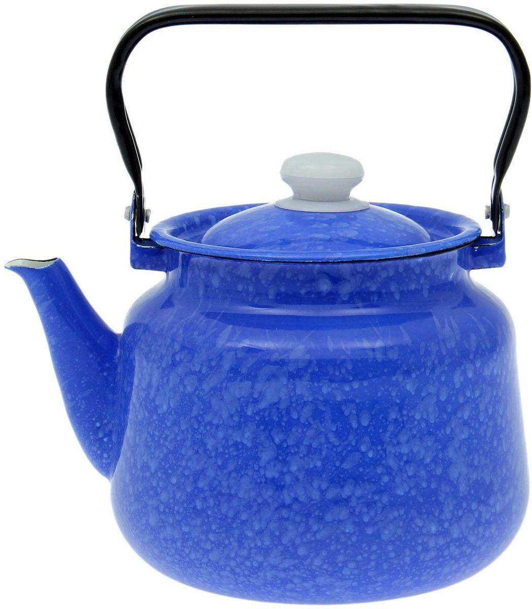 """Чайник Epos """"Снежок"""" выполнен из высококачественной стали с эмалированным покрытием. Поверхность чайника гладкая, что облегчает уход за ним. Большой объем позволит приготовить напиток для всей семьи или небольшой компании.  Эстетичный и функциональный чайник будет оригинально смотреться в любом интерьере. Душевная атмосфера и со вкусом накрытый стол всегда будут собирать в вашем доме близких и  друзей.   Чайник подходит для использования на всех типах плит.  Объем: 3,5 л."""
