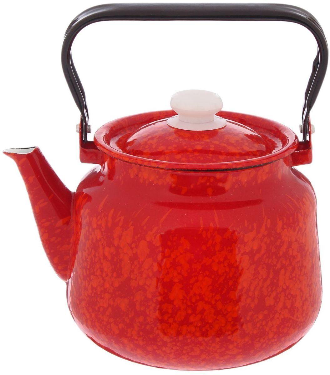 Чайник Epos Галактика, 3,5 л2179389Чайник изготовлен из высококачественного стального проката с эмалированным покрытием. Эмалированная посуда очень удобна в использовании, она практична и элегантна. За такой посудой легко ухаживать: чистить и мыть. Чайники с эмалированным покрытием обладают неоспоримым преимуществом: гладкая поверхность не впитывает запахи и препятствует размножению бактерий. Подходит для всех типов плит и для мытья в посудомоечной машине.