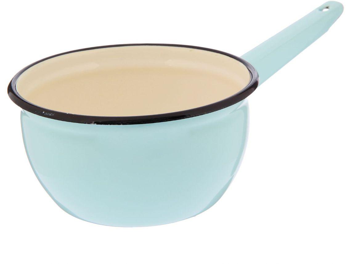 Ковш Epos Бирюзовая, с эмалированным покрытием, 1,5 л2179355Ковш Epos Бирюзовая изготовлен из высококачественной стали с эмалированным покрытием.Пища не пригорает и не прилипает к стенкам и дну посуды. На ручке предусмотрено отверстие для подвешивания.От хорошей кухонной утвари зависит половина успеха аппетитного блюда. Чтобы еда была вкусной, важно ее правильно приготовить и сервировать. Вся посуда бренда Epos изготовлена из проверенных материалов, безопасна в использовании, будет долго радовать вас своим внешним видом и высоким качеством. Объем: 1,5 л.