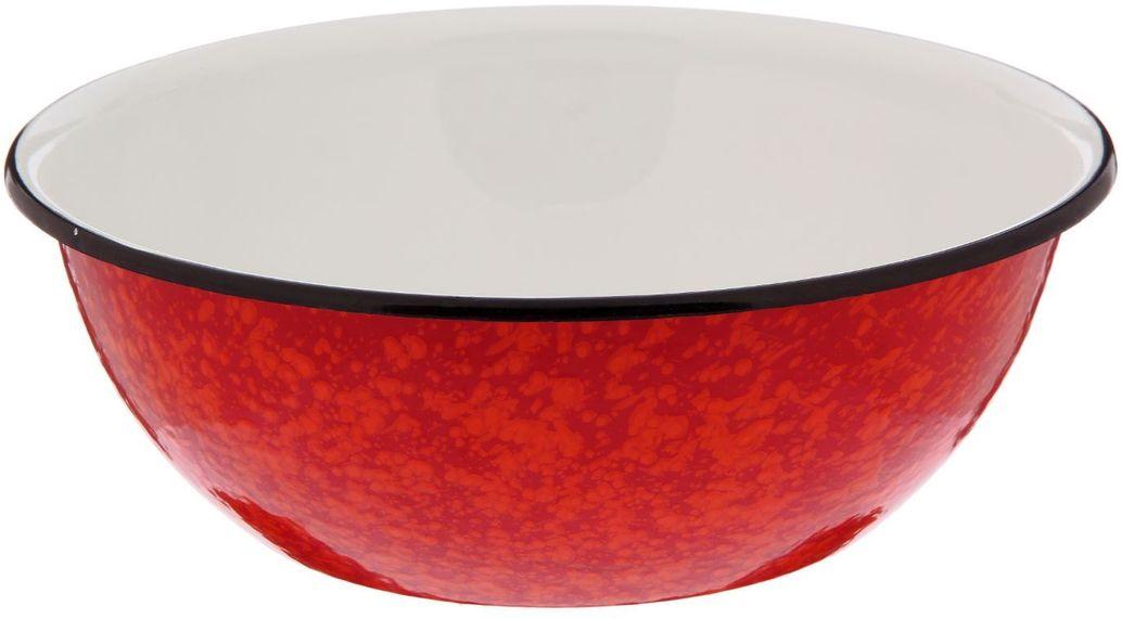 Миска Epos Галактика, с эмалированным покрытием, цвет: красный, 4 л2179375Миска Epos Галактика изготовлена из стали, покрытой эмалью. Такое покрытие защищает сталь от коррозии, придает посуде гладкую стекловидную поверхность и надежно защищает от кислот и щелочей. Миска подойдет для перемешивания продуктов, приготовления салатов и маринования мяса. Кроме того, изделие отлично подходит для приготовления пищи на природе. За счет ее компактного размера и формы миску удобно хранить в шкафу с другими кухонными принадлежностями. Миска Epos Галактика станет незаменимым аксессуаром на кухне любой хозяйки. От хорошей кухонной утвари зависит половина успеха аппетитного блюда. Чтобы еда была вкусной, важно ее правильно приготовить и сервировать. Вся посуда бренда Epos изготовлена из проверенных материалов, безопасна в использовании, будет долго радовать вас своим внешним видом и высоким качеством. Диаметр миски по верхнему краю: 30 см. Высота стенки миски: 8 см.