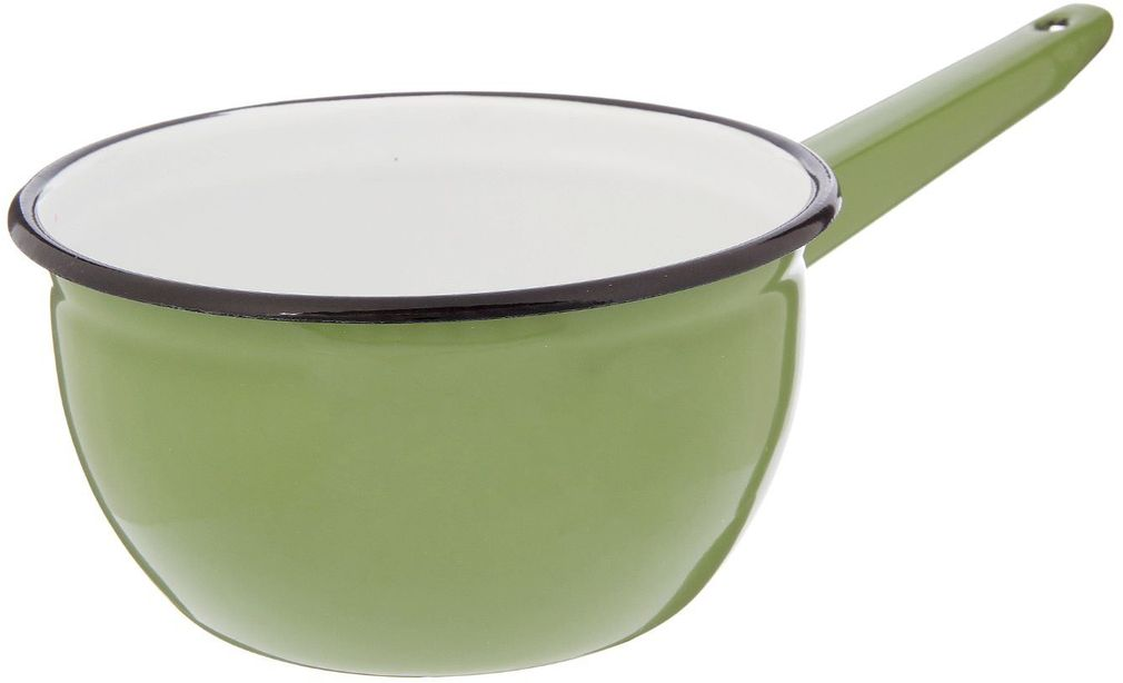 Ковш Epos Вильямс, с эмалированным покрытием, 1,5 л2293418Ковш Epos Вильямс изготовлен из высококачественной стали с эмалированным покрытием.Пища не пригорает и не прилипает к стенкам и дну посуды. На ручке предусмотрено отверстие для подвешивания.От хорошей кухонной утвари зависит половина успеха аппетитного блюда. Чтобы еда была вкусной, важно ее правильно приготовить и сервировать. Вся посуда бренда Epos изготовлена из проверенных материалов, безопасна в использовании, будет долго радовать вас своим внешним видом и высоким качеством. Объем: 1,5 л.