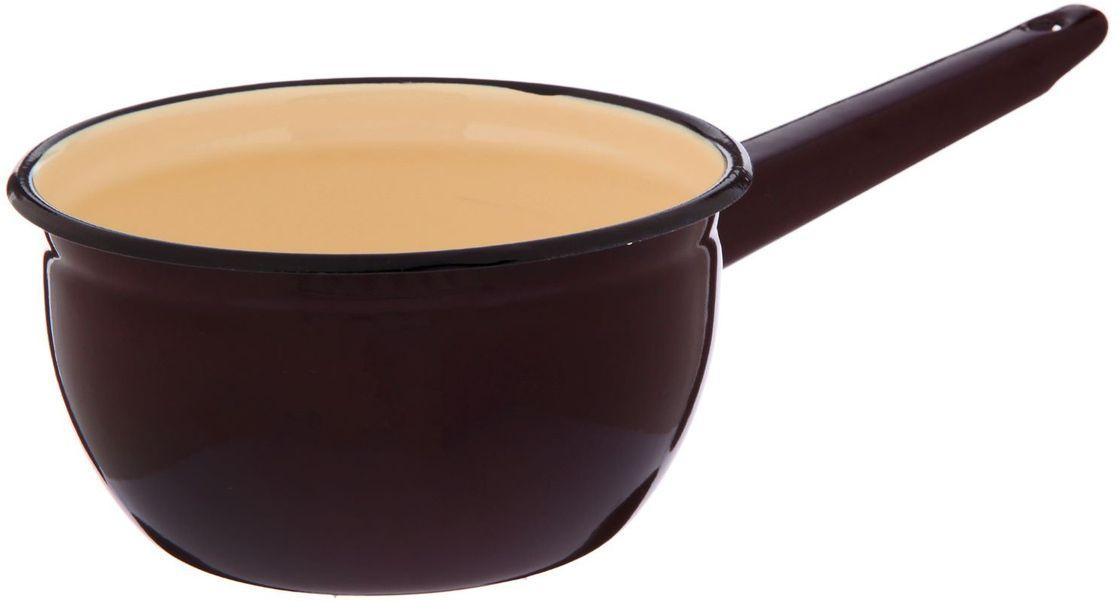 Ковш Epos Капучино, с эмалированным покрытием, 1,5 л2293419Ковш Epos Капучино изготовлен из высококачественной стали с эмалированным покрытием.Пища не пригорает и не прилипает к стенкам и дну посуды. На ручке предусмотрено отверстие для подвешивания.От хорошей кухонной утвари зависит половина успеха аппетитного блюда. Чтобы еда была вкусной, важно ее правильно приготовить и сервировать. Вся посуда бренда Epos изготовлена из проверенных материалов, безопасна в использовании, будет долго радовать вас своим внешним видом и высоким качеством. Изделие подходит для всех плит, включая индукционные.Объем: 1,5 л.