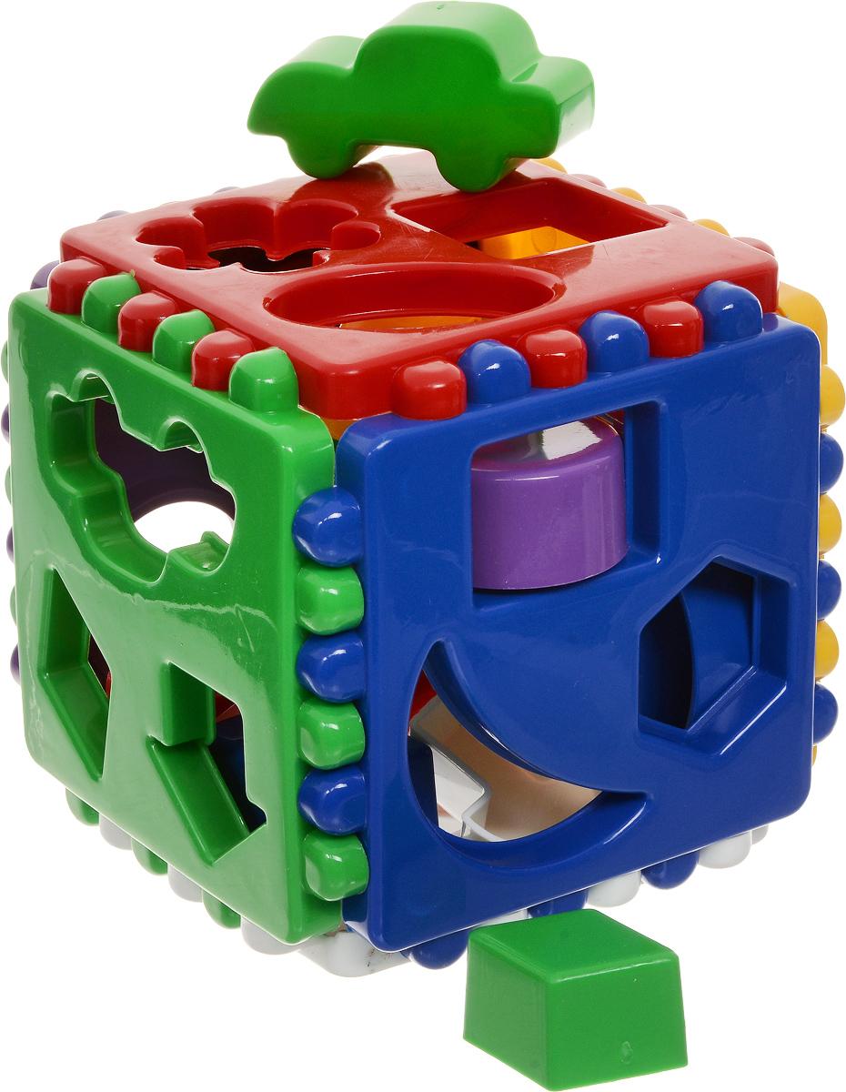 Улыбка Сортер Логический куб  - купить со скидкой