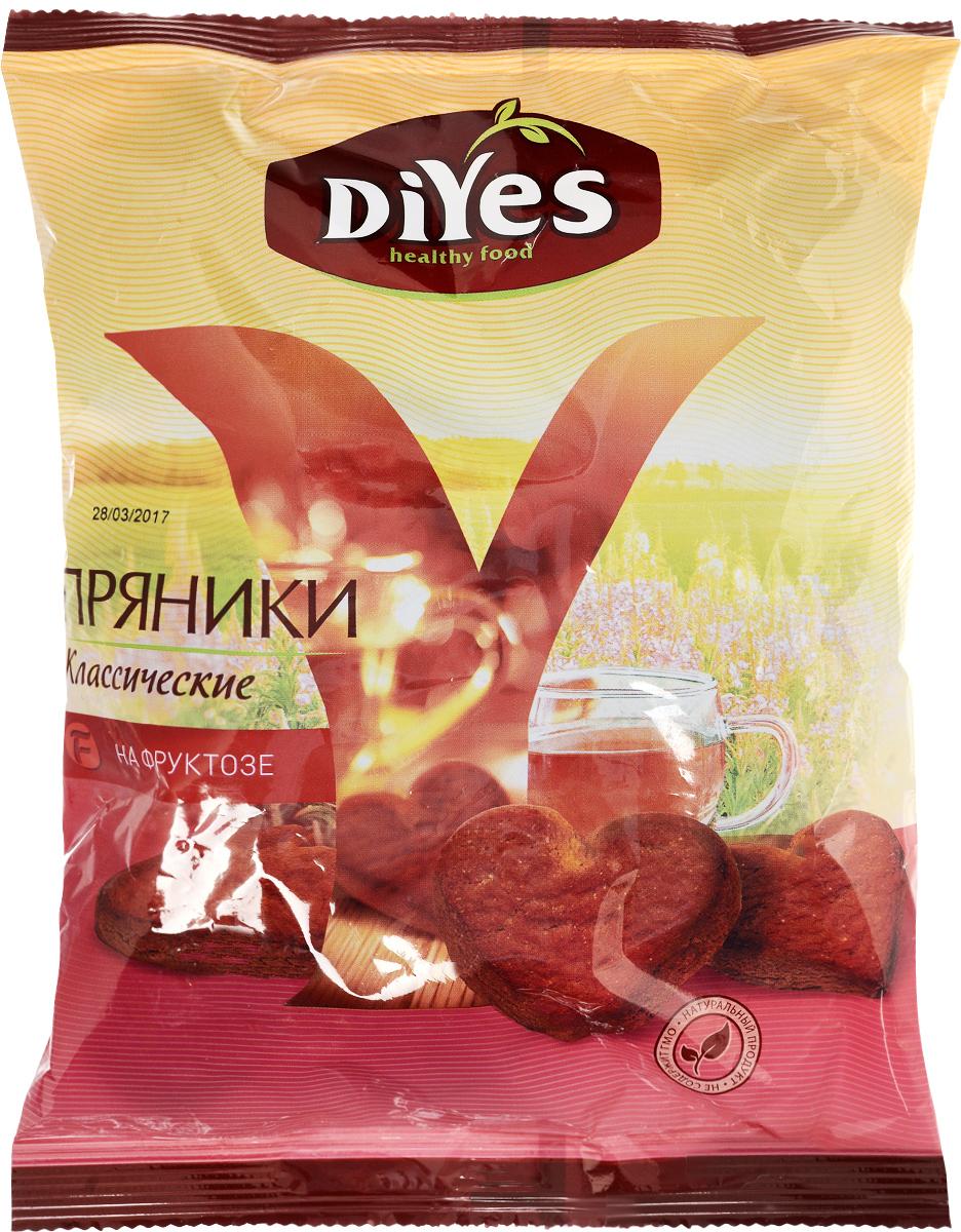 ДиYes Пряники заварные Классические на фруктозе, 300 г вижер пряники шоколадные 350 г