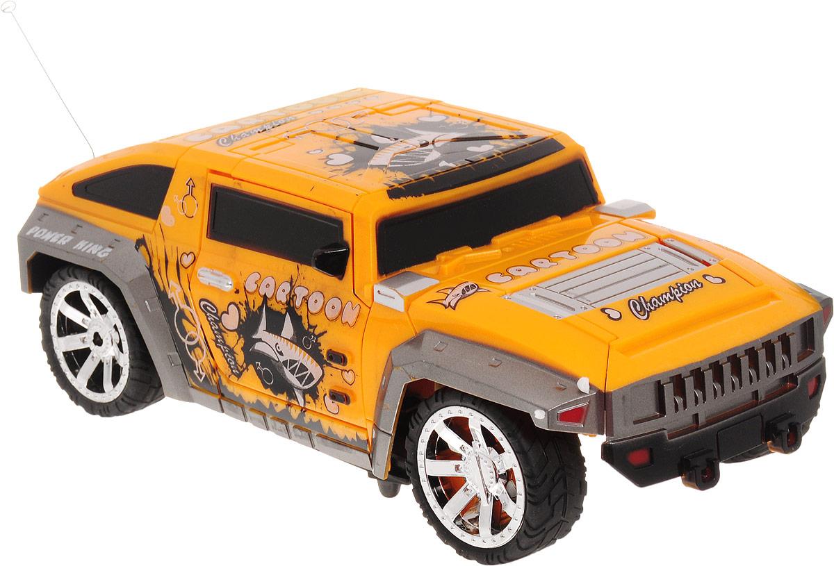 Balbi Машина-трансформер на радиоуправлении цвет желтый