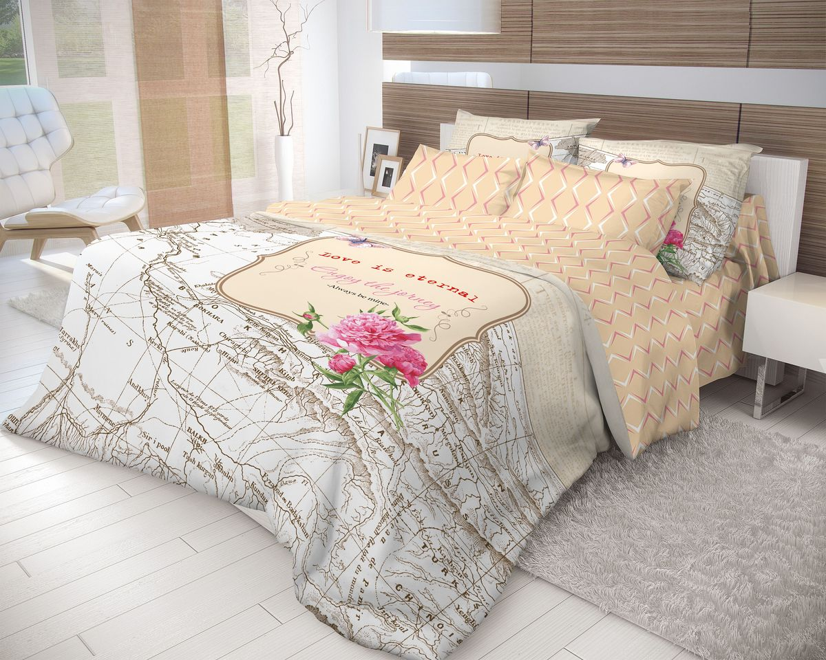 Комплект белья Волшебная ночь Map, евро, наволочки 70х70, цвет: белый, оранжевый703881Роскошный комплект постельного белья Волшебная ночь Map выполнен из натурального ранфорса (100% хлопка) и оформлен оригинальным рисунком. Комплект состоит из пододеяльника, простыни и двух наволочек. Ранфорс - это новая современная гипоаллергенная ткань из натуральных хлопковых волокон, которая прекрасно впитывает влагу, очень проста в уходе, а за счет высокой прочности способна выдерживать большое количество стирок. Высочайшее качество материала гарантирует безопасность.