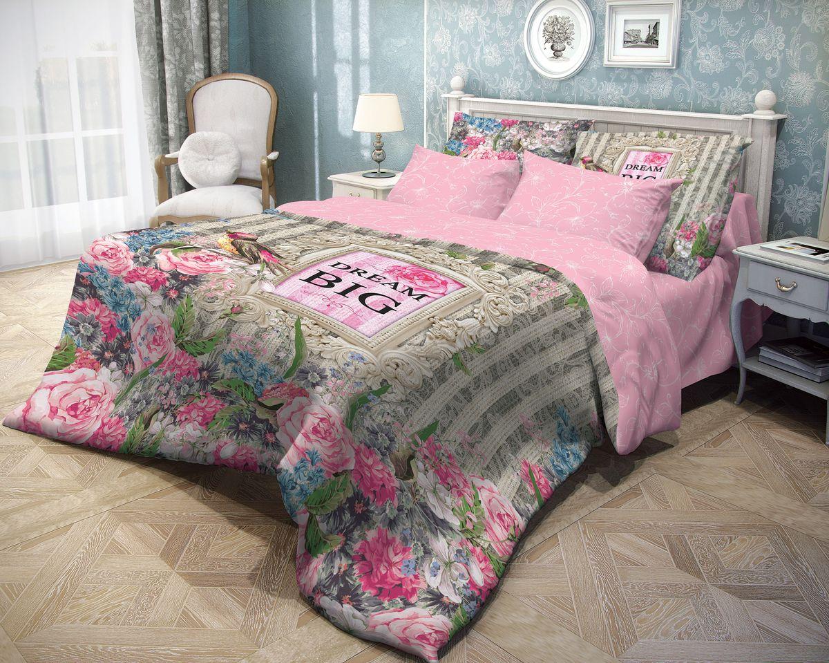 Комплект белья Волшебная ночь Flora, 1,5-спальный, наволочки 50х70703933