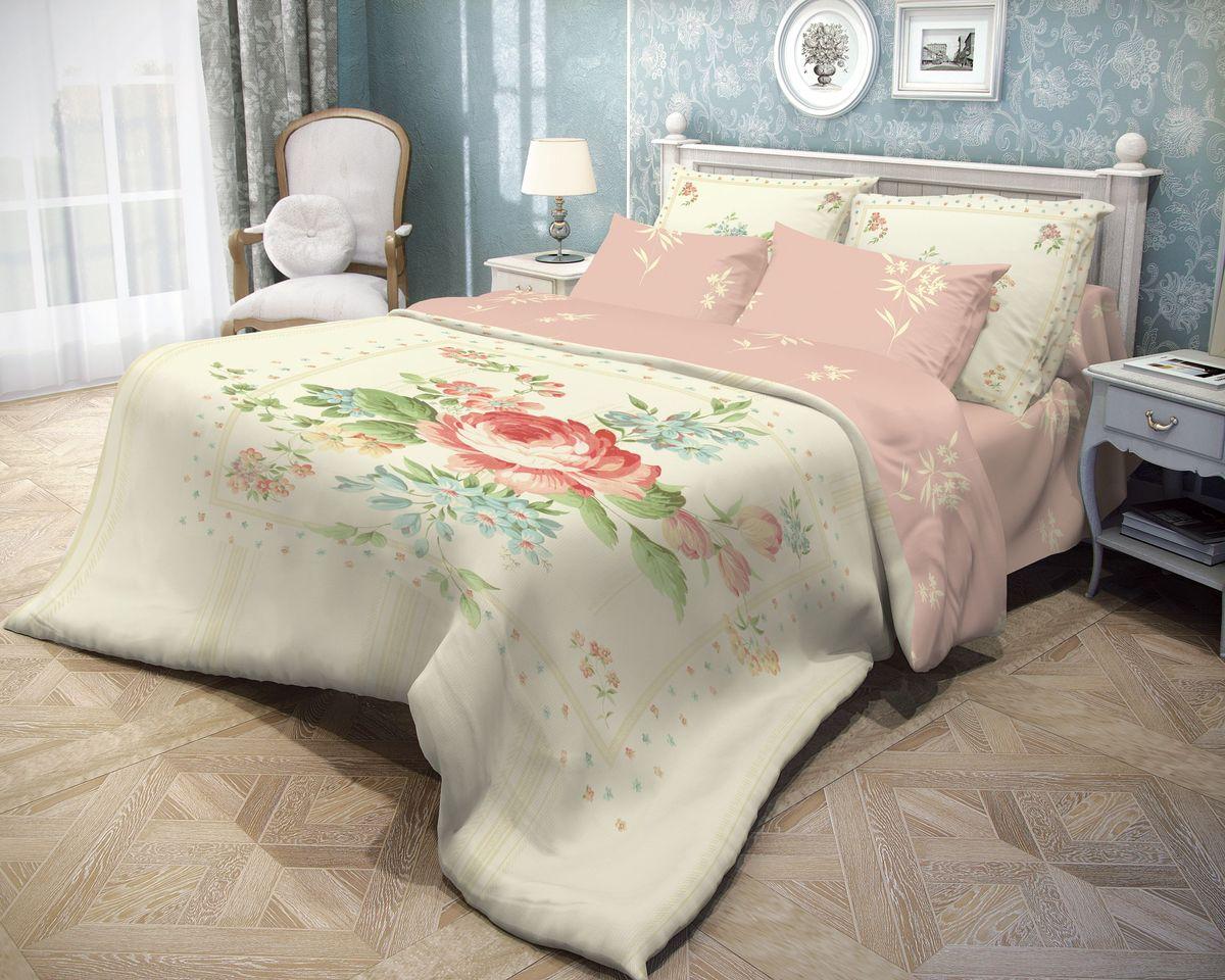 Комплект белья Волшебная ночь Field, 2-спальный, наволочки 50х70704251Комплект постельного белья Волшебная ночь Field, изготовленный из ранфорса (100% хлопка), являющегося экологически чистым продуктом, поможет вам расслабиться и подарит спокойный сон. Комплект состоит из пододеяльника, простыни и двух наволочек. Постельное белье имеет привлекательный внешний вид и обладает яркими сочными цветами. Благодаря такому комплекту постельного белья вы сможете создать атмосферу уюта и комфорта в вашей спальне.Советы по выбору постельного белья от блогера Ирины Соковых. Статья OZON Гид