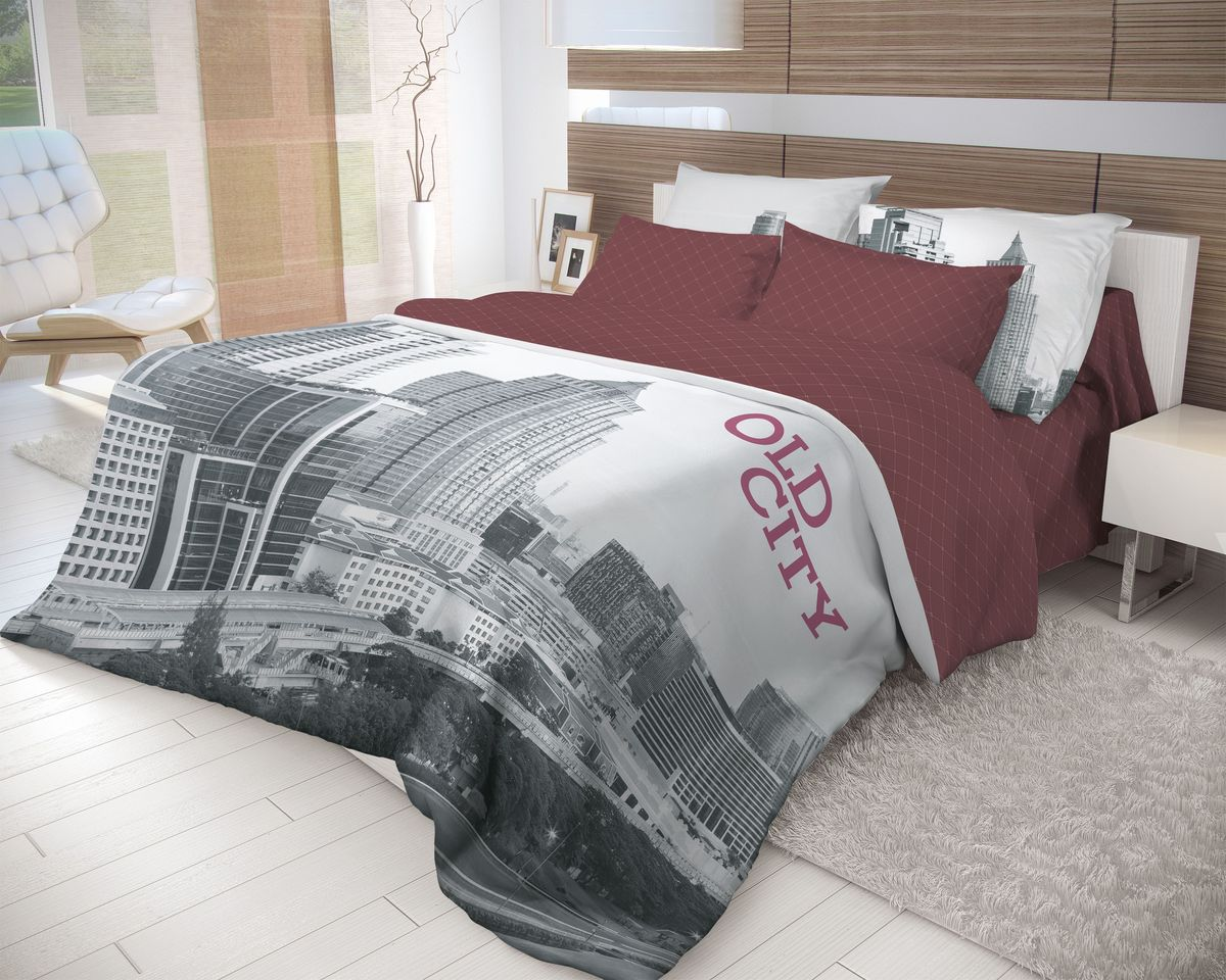 Комплект белья Волшебная ночь Old City, 2-спальный, наволочки 70х70. 710611 комплект белья василиса тауэрский мост 2 спальный наволочки 70х70
