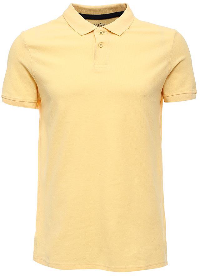 Поло мужское Sela, цвет: светло-желтый. Tsp-211/2057-7223. Размер XS (44)Tsp-211/2057-7223Стильная мужская футболка-поло Sela, выполненная из натурального хлопка, станет отличным дополнением гардероба в летний период. Модель полуприлегающего кроя с разрезами по бокамзастегивается на пуговицы до середины груди.Яркий цвет модели позволяет создавать стильные образы.